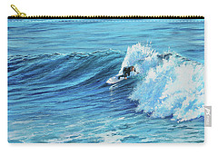 A Ride On Steamer Lane Carry-all Pouch