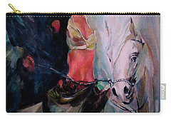 A Rider Carry-all Pouch by Khalid Saeed