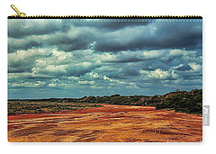 Carry-all Pouch featuring the photograph A River Of Red Sand by Diana Mary Sharpton