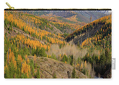 A River Runs Through It Carry-all Pouch by Jack Bell