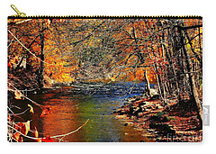 A River Runs Through It Carry-all Pouch