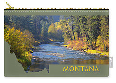 A River Runs Thru Autumn Carry-all Pouch