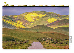 Carry-all Pouch featuring the photograph A Road Less Traveled by Marc Crumpler