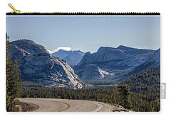 Carry-all Pouch featuring the photograph A Road To Follow by Everet Regal