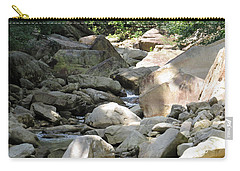 Carry-all Pouch featuring the photograph A Rocky Hike by Aaron Martens