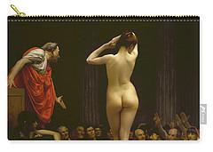 A Roman Slave Market, Jean Leon Gerome Carry-all Pouch