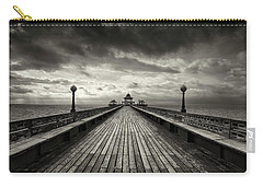 A Romantic Walk To The Past Carry-all Pouch by Dominique Dubied
