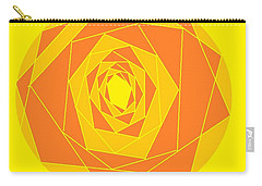 A Rose By Any Other Name 1 Carry-all Pouch by Linda Velasquez