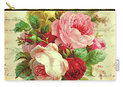 A Rose Speaks Of Love Carry-all Pouch