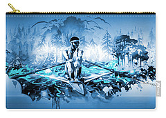 Carry-all Pouch featuring the painting A Rower's Fantasy by Hanne Lore Koehler