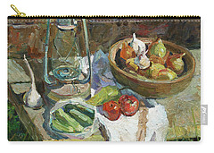 A Rustic Still Life Carry-all Pouch