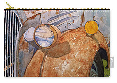 A Rusty Old Chevy Carry-all Pouch by Rand Swift