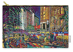 A San Antonio Christmas Carry-all Pouch by Patti Schermerhorn