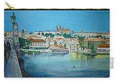 A Scene In Prague 3 Carry-all Pouch by Bryan Bustard