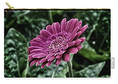 A Shade Of Purple Carry-all Pouch by Karen Stahlros