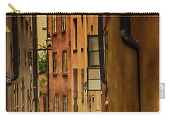 A Side Street In Stockholm Carry-all Pouch