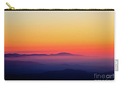 Carry-all Pouch featuring the photograph A Simple Sunrise by Douglas Stucky