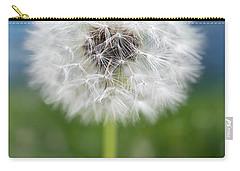 A Single Dandelion Seed Pod Carry-all Pouch by Robert FERD Frank