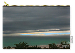 Carry-all Pouch featuring the photograph A Sliver Of Hope by Mariarosa Rockefeller