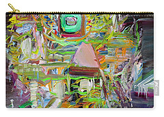Carry-all Pouch featuring the painting A Small Portion Of Herself by Fabrizio Cassetta