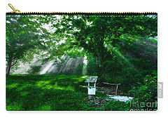 Carry-all Pouch featuring the photograph A Small Wish 3 by Mel Steinhauer