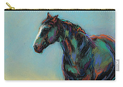 Carry-all Pouch featuring the pastel A Soft Breeze by Frances Marino