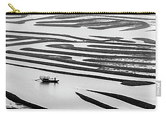 A Solitary Boatman. Carry-all Pouch