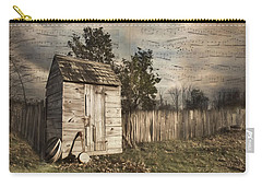 Carry-all Pouch featuring the photograph A Song Before You Go by Robin-lee Vieira