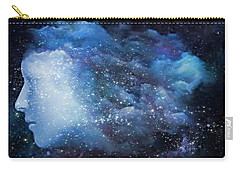 A Soul In The Sky Carry-all Pouch by Gun Legler