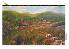 Carry-all Pouch featuring the painting A Special Place by Claire Bull