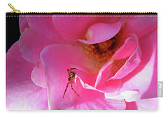 A Spider And A Rose Carry-all Pouch
