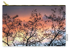 Carry-all Pouch featuring the photograph A Splendid Silhouette by Will Borden
