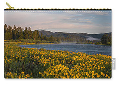 A Spring Morning Carry-all Pouch by Leland D Howard