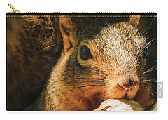 A Squirrel And His Nut Carry-all Pouch