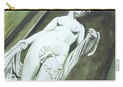 A Statue At The Toledo Art Museum - Ohio Carry-all Pouch
