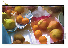 A Still Life # 25 Carry-all Pouch by Vladimir Kholostykh
