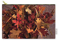 A Still Life For Autumn Carry-all Pouch by Sherry Hallemeier
