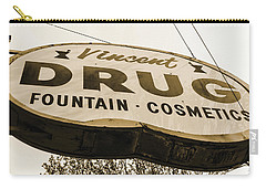 A Store For Everyone - Vintage Pharmacy Sign Carry-all Pouch