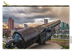 A Storm Approaching Baltimore Carry-all Pouch