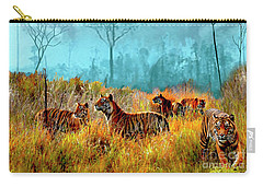 A Streak Of Tigers Carry-all Pouch
