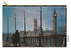An Evening Stroll Along The Thames  Carry-all Pouch