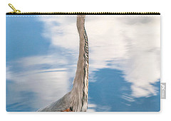 Carry-all Pouch featuring the photograph A Stroll Among The Clouds by Christopher Holmes