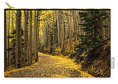 A Stroll Among The Golden Aspens  Carry-all Pouch