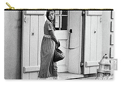 Carry-all Pouch featuring the photograph A Stroll In The French Quarter by KG Thienemann