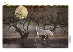 Carry-all Pouch featuring the photograph A Summer Night's Dream by Melinda Hughes-Berland