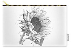 A Sunflowers Beauty Carry-all Pouch by Patricia Hiltz