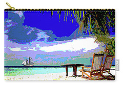 A Sunny Day At The Beach Carry-all Pouch