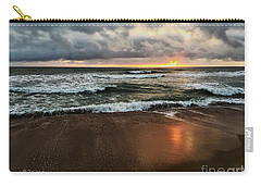 A Sunrise Over Kitty Hawk Carry-all Pouch by Linda Mesibov