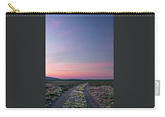 Carry-all Pouch featuring the photograph A Sunrise Path by Leland D Howard