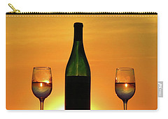 A Sunset In Each Glass Carry-all Pouch